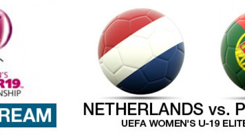Live Stream: Netherlands v Portugal | UEFA Women's U-19 Elite Round (8 April)