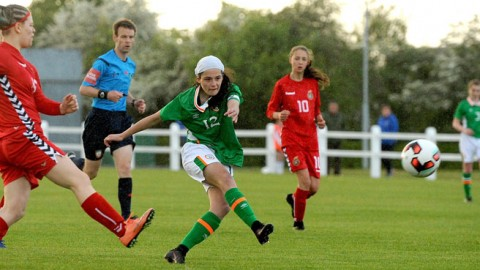 Republic of Ireland WU16s shine in five-star display in Mayo