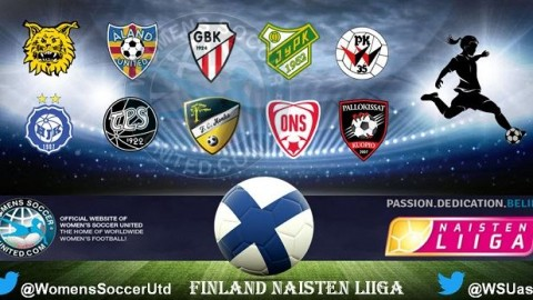 Finland's Naisten Liiga Match Results 20th May 2017
