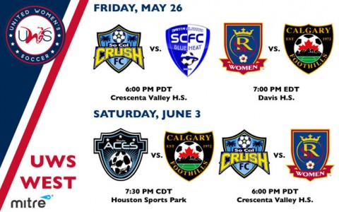 UWS West Conference Week 3 Preview: The defending 2016 UWS champion Blue Heat kick off 2017 season on Friday