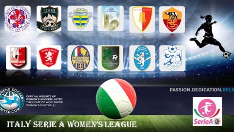 Fiorentina FC win the Italien Serie A Femminile League 2017