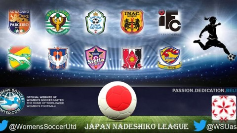 Japan Nadeshiko League Match Results Sunday 7th May 2017