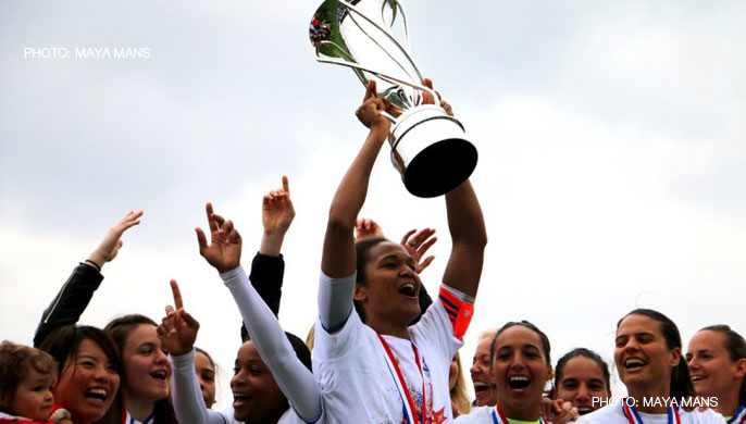 Lyon win their 11th consecutive title in the French Women's Division 1