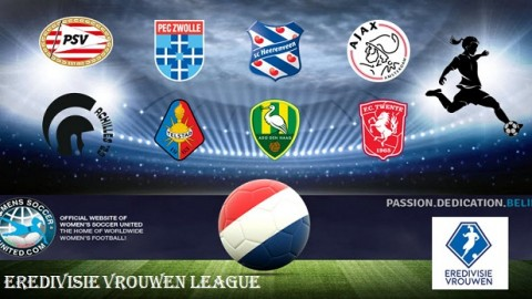 Vrouwen Eredivisie Final Match Results 2017 Season 26th May