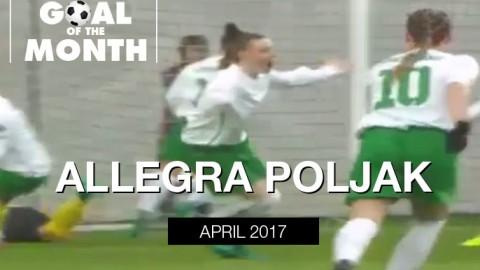 Allegra Poljak wins WSU Goal of the Month – April 2017