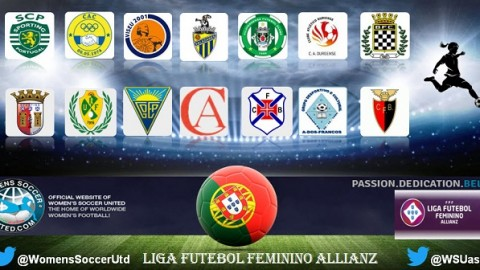 Three Games left Sporting CP lead Liga Futebol Feminino Allianz