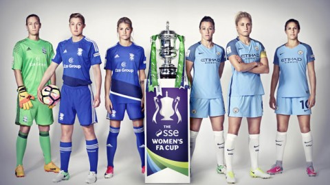 Record attendance is expected for SSE Women's FA Cup Final between Manchester City and Birmingham City