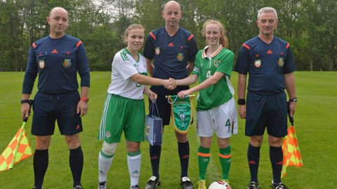 Republic of Ireland WU16s make perfect start to UEFA Development Tournament