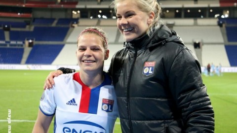 Eugénie Le Sommer and Ada Hegerberg Finish joint Top Goalscorers