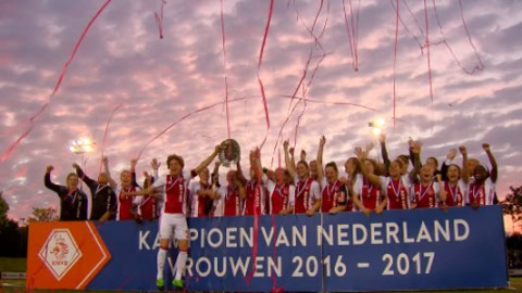 Congratulations to Ajax Vrouwen on winning the Vrouwen Eredivisie Championship