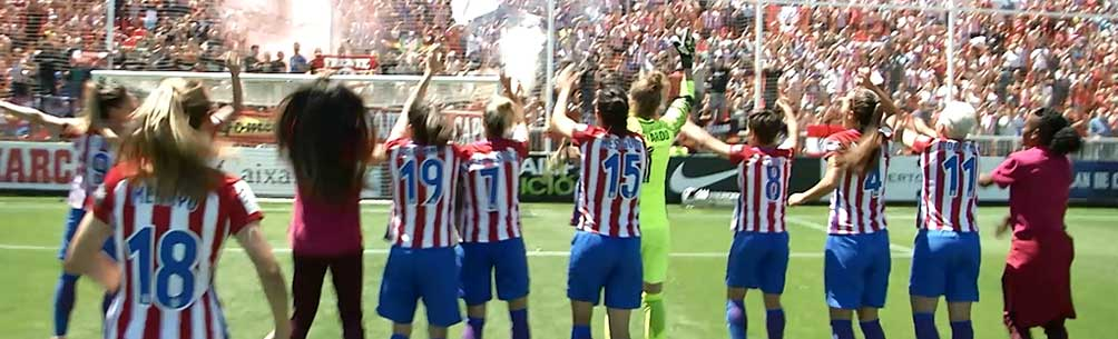 ATLETICO DE MADRID CLAIM THEIR FIRST SPANISH LIGA IBERDROLA TITLE!