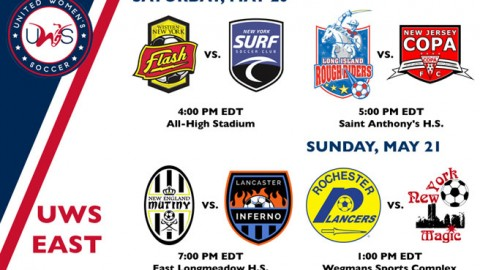 UWS East Conference Week 2 Preview: Lancaster Inferno & the New York Magic kick off 2017 on the road