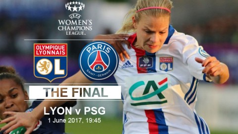 Live Updates: Olympique Lyonnais v Paris Saint-Germain | UEFA Women's Champions League Final! (1 June 2017)