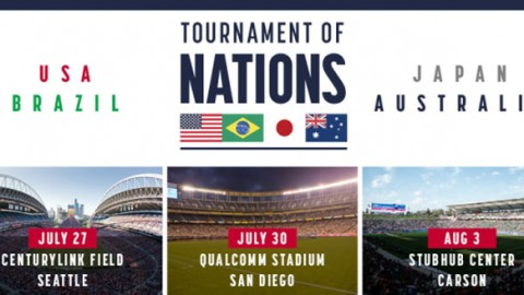 Fixtures confirmed for Tournament of Nations featuring USA, Australia, Brazil and Japan