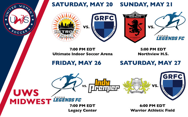 UWS Midwest Conference Week 2 Preview: Detroit and Grand Rapids face off in early season showdown