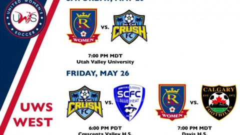 UWS West Conference Week 2 Preview: Real Salt Lake Women host newcomer So Cal Crush FC in West opener