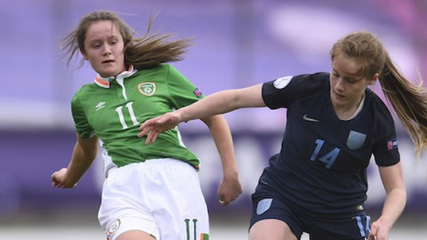 England beat Republic of Ireland in opening UEFA European Women's Under-17 Championship group game