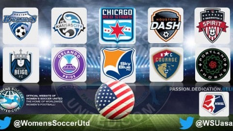 Chicago Red Stars lead the NWSL 23rd July 2017