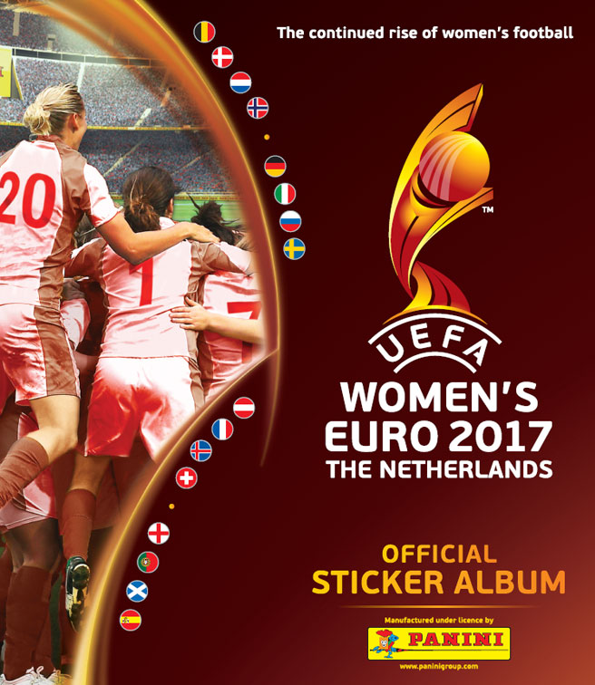 UEFA Euro Women's 2017 Official Sticker Collection from Panini