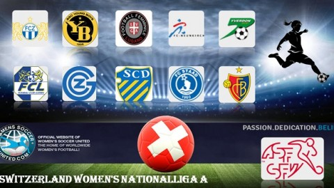FC Zürich Frauen lead Switzerland Nationalliga A 16th April 2018