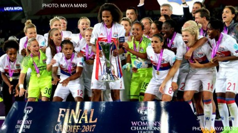 UEFA Women's Champions League Final will be played in Ukraine for the first time in 2017/18