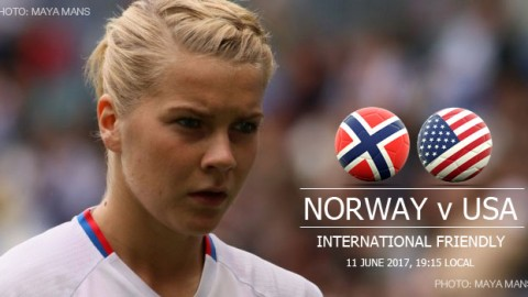 Full-time: Norway 0-1 USA | International Friendly (11 June 2017)
