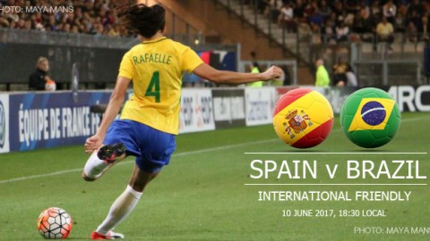 Full-time: Spain 1-2 Brazil | International Friendly (10 June 2017)