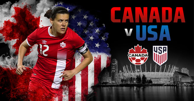 Canada to face rivals USA in Vancouver in November!
