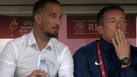 Euro 2017: Mark Sampson 'immensely proud' of England display vs Spain