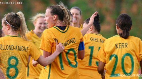 Australia stun USA with an historic first-ever win in their opening Tournament of Nations match