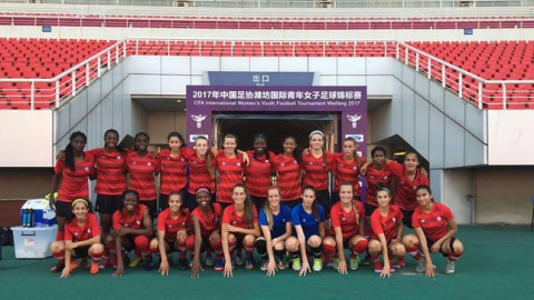 Canada Women's U-17 Team leaves Weifang, China after gaining invaluable experience at the Four Nations Tournament