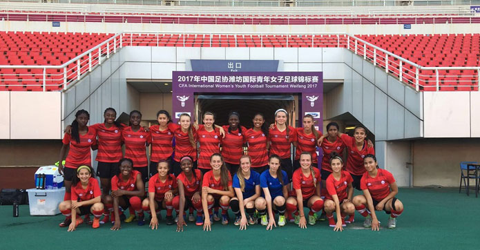 Canada Soccer's Women's U-17 Team leaves China with experience