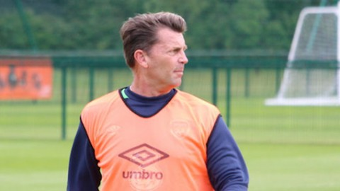 Ireland WNT Head Coach Colin Bell wants positives to continue in 'toughest test'