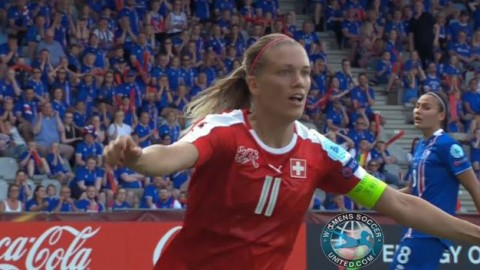 Match report: Switzerland knock Iceland out of Euro 2017