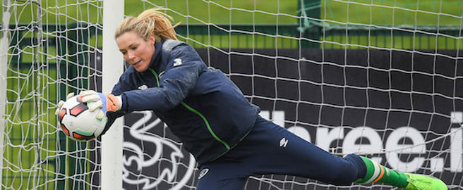 Goalkeeper Emma Byrne pulls out of squad to face Scotland