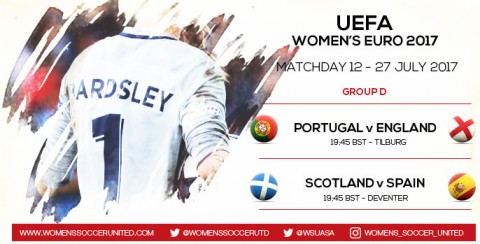 Live updates from Matchday 12 of the UEFA Women's EURO 2017 Championship