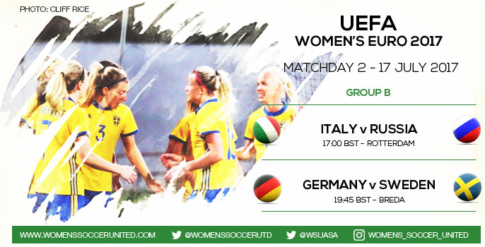 Matchday 2 at the UEFA Women's EURO 2017 Championship