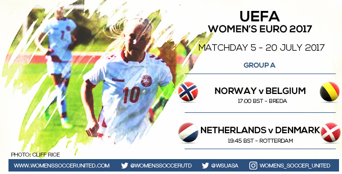 Koeficient UEFA Update: Live Updates From Matchday 5 Of The UEFA Women's EURO 2017
