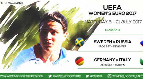 Live updates from Matchday 6 of the UEFA Women's EURO 2017 Championship
