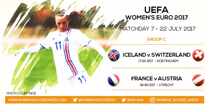 Koeficient UEFA Update: Live Updates From Matchday 7 Of The UEFA Women's EURO 2017