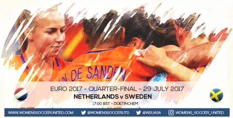 Live updates: Netherlands v Sweden | UEFA Women's Euro 2017 Quarter-final