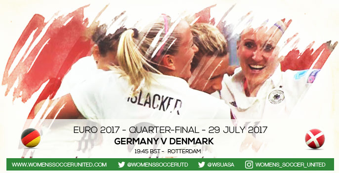 Germany v Denmark | UEFA Women's Euro 2017 Quarter-final