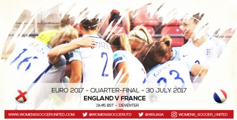 Live updates: England v France | UEFA Women's Euro 2017 Quarter-final