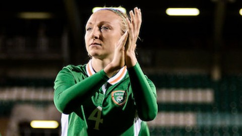 Louise Quinn urges Republic of Ireland to get positive result in tonight's international friendly against Scotland