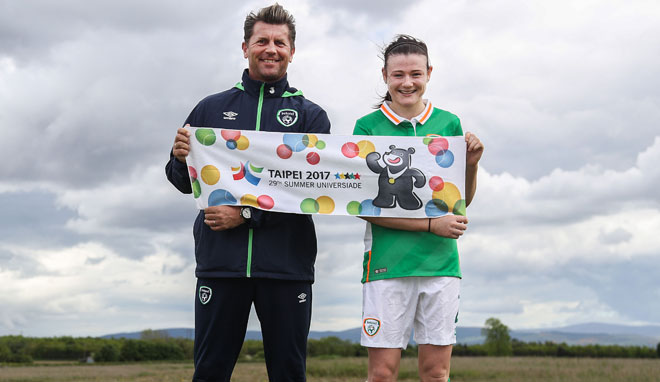World University Games: Ireland Women's Squad announced for Taipei tournament