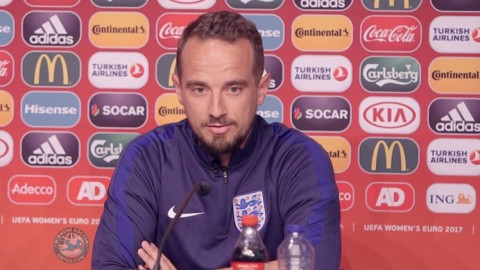 Euro 2017: England's Mark Sampson and Steph Houghton ready for Scotland battle