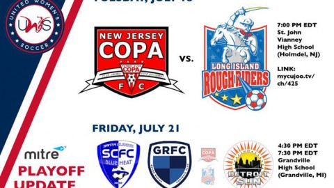 UWS Playoff: New Jersey hosts Long Island tonight; Detroit nabs wild card
