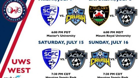UWS West Conference Week 9 Preview: Calgary & Houston battle it out for second place in West race