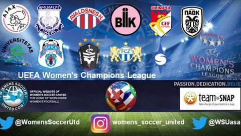 11 teams Qualified for Friday's UEFA Women's Champions League draw