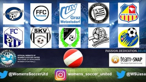 SKN St Pölten Frauen lead Austria Frauenliga 11th September 2017